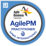 AgilePM Practioner APMG International badge
