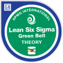 Lean Six Sigma Green Belt APMG Badge