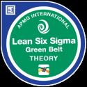Lean Six Sigma Green Belt APMG Badge